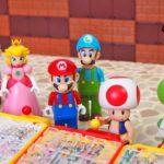 マリオ おもちゃ『カプセル大冒険ゲームを攻略』Super Mario GAME Toys