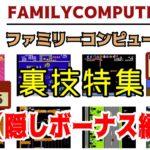 【ファミコンソフト】裏技特集(隠しボーナス編)