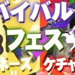 【スプラトゥーン2】フェスが帰ってきた!『ケチャップ VS マヨネーズ』で決着をつけよう【Splatoon2】