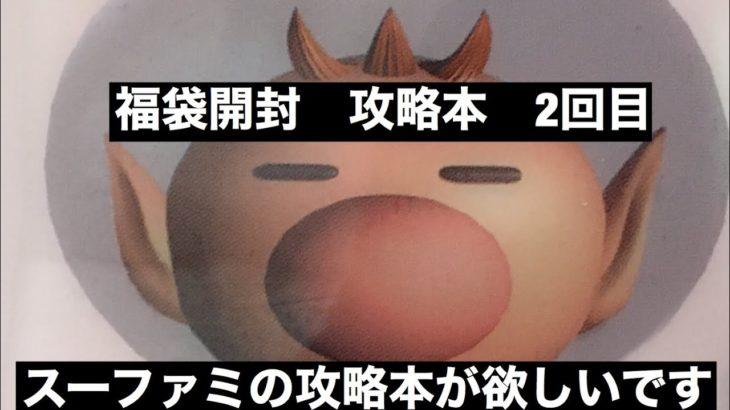 福袋開封 ゲーム攻略本 2回目 きてる!!(。 ー`ωー´)
