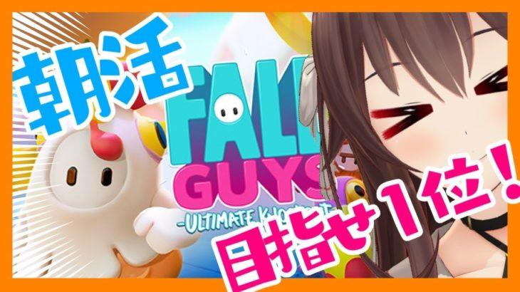 【Fall Guys/フォールガイズ】朝活!今日も1位目指して頑張るぞ!!!!【ゲーム実況】八重沢なとり VTuber