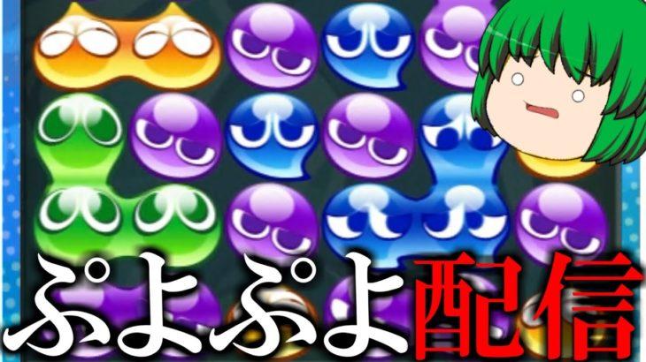 【生放送】レート潜る – ぷよぷよeスポーツ