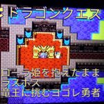 SFC ドラゴンクエスト1 #19 裏ワザ 姫を抱えたまま ラスボス 竜王に挑戦 ドラクエ 実況 RPG レトロゲーム 直撮り