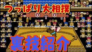 【ファミコン・つっぱり大相撲】裏技紹介!おまけあり