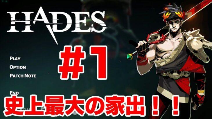 #1【やなまる】遊ぶたびに攻略法が変わるゲーム【Hades】