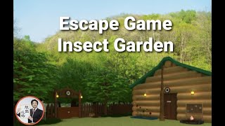 Escape Game Insect Garden【Ryohei Narita / NAKAYUBI】 ( 攻略 /Walkthrough / 脫出)