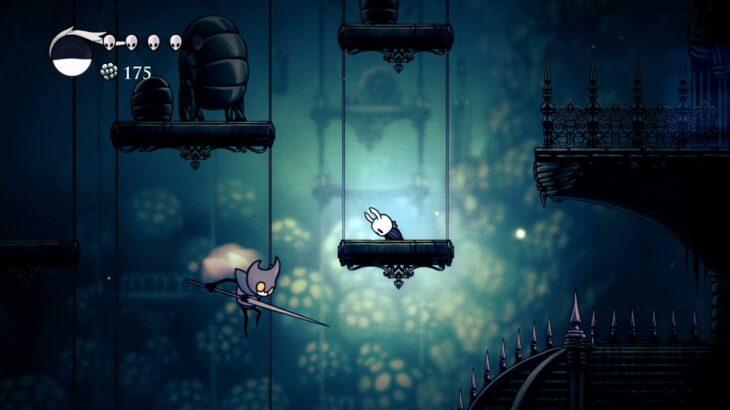 PS4 《Hollow Knight》 ゲーム攻略 その3 – 水晶山 / 安息の地 / 涙の都(右) / 古代の穴 (日本語字幕付き/実況なし)