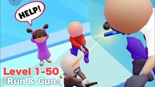 『Run & Gun』のレベル1-50を攻略【カジュアルiPhoneゲーム】