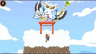 Googleオリンピックゲーム フクロウクライミング 高難易度 26秒最速攻略【Doodle チャンピオン アイランドゲーム】