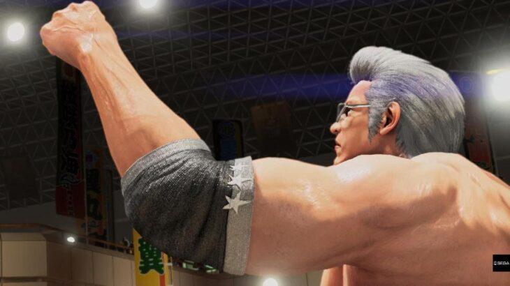 バーチャファイター eスポーツ 世界1位ウルフ 銀髪リーゼント 本気ウルフ Virtua Fighter esports