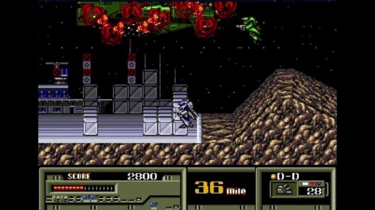 【レトロゲーム/実況】ロボット・2Dアクションゲーム【全クリ】【裏ワザ使用】